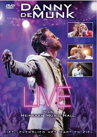 Cover Danny de Munk - Het levenslied met hart en ziel - Live in de Heineken Music Hall [DVD]